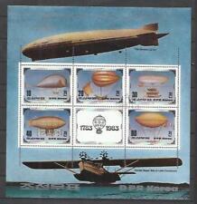 Q5032-HOJa block korea korea zeppelin 1982