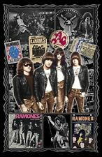 """The Ramones-11x17"""" Tribute poster -Vivid Colors - Deep Blacks - Signed by Artist"""