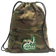 UNCC UNC Charlotte Cinch Pack Backpack COOL CAMO University of North Carolina Ch