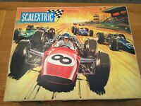 VINTAGE SCALEXTRIC SPORT SET 31 BOXED  IN EXCELLENT CONDITION - CARS UNTESTED