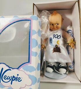 "NIB Kewpie Cameo Collectibles 8"" Boo Halloween Doll In Box Jesco"