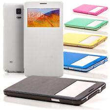Flip Case für Samsung Galaxy Note 4 N910 Handy Tasche Schutz Hülle Slim Cover