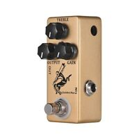 MOSKY Guitar Overdrive/ Boost Effect Pedal True Bypass Normal/ Soft