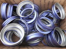 50 NEW PURPLE BALL MASON CANNING JAR RINGS REGULAR MOUTH RINGS / BANDS ONLY