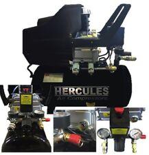 COMPRESSORE HERCULES 24 LT 2 HP 8 BAR 1500 W LUBRIFICATO OLIO 2 MANOMETRI