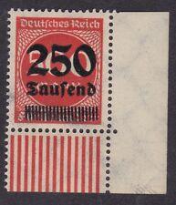 Germany 1923 - 250 Tausend on 500M - SG293 - Corner MNH (C2F)