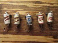 Schlitz & Light Malt Liquor Beer 5 Different Promotional Fishing Lures Bull