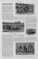 CARLISLE VS YALE COLLEGE UNIVERSITY AMERICAN FOOTBALL CARLISLE HISTORY TOUCHDOWN