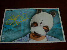 Cro & Usher - Bravo Autogrammkarte ca . 7 cm x 10 cm