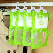 Interior Dehumidifier Desiccant Damp Storage Hanging Bags Wardrobe Rooms GRAU