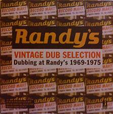 VINTAGE DUB SELECTION Dubbing At Randy's 1969-1975 NEW CD £9.99