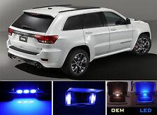 Ultra Blue Vanity / Sun visor LED light Bulbs for Jeep Grand Cherokee (4 Pcs)