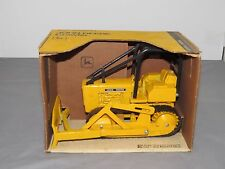 John Deere 450 Crawler Dozer Tractor Toy Ertl 1/16th New Box OLDER Yellow Brown