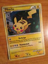 LP/NM Pokemon (Holo) PIKACHU Card BLACK STAR PROMO HeartGold&SoulSilver HGSS03