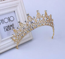 Wedding Jewelry Princess Tiara Crown Rhinestone Headband Headpiece