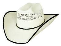 New Bullhide Hats Beer Time Western 20X Bangora Straw Cowboy Hat