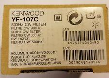 Kenwood YF-107C 500Hz CW Filter