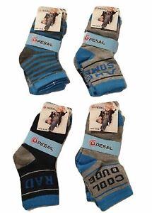 Lot 6 paires  chaussettes garçon,chaussette enfant,chaussettes coton