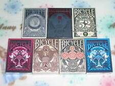 Complete Set of 5 Bicycle Federal 52+ 2 emperor playing cards -