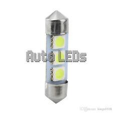 1 Blanco SMD LED 36mm 3 SMD Festoon Bombilla LED Interior 12v