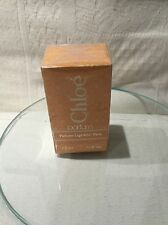 VINTAGE CHLOE PARFUM BY KARL LAGERFELD 7.5ml PERFUME glass lily stopper