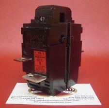 60 Amp Pushmatic Bulldog Siemens W260 60A 2 Pole Main Lighting Breaker