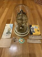 "SCHATZ  ORIGINAL 68 YEAR OLD 400 DAY Anniversary CLOCK ""Snow White"" With Papers"