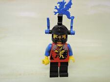 Lego personaje Castle Dragon Knight caballero cas015 casco dragón joyas azul 6048