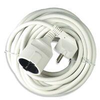 (3,05€/m) PVC Stromkabel 3x 1,50 mm² Verlängerungskabel 2, 3, 5, 10 Meter Schuko