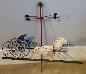 Vintage, Horse Trotting Racing Weathervane