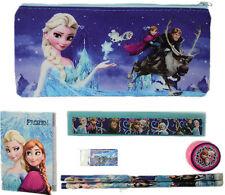 Frozen Kids Pencil Case Stationery School Supplier Pouch Boy & Girls Bags Set