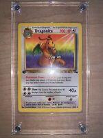 Dragonite 1st Edition Fossil Pokemon Card Vintage Vtg Wotc Rare Non Holo LP