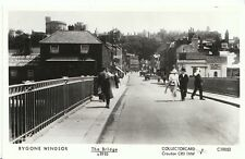 Berkshire Postcard - Bygone Windsor - The Bridge c1910  - 2162