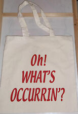 OH WHATS OCCURRIN BAG GAVIN AND STACEY BIRHDAY CHRISTMAS KITCHEN WALES NESSA