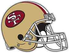 "San Francisco 49ers NFL Football Car Bumper Locker Notebook Sticker Decal 5""X4"""