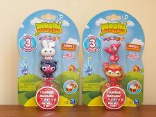 Moshi Monsters 2x3-Pack=6 Moshlings, Series-1 Honey Sooki-Yaki Stanley Chop Chop