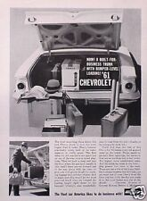 1961 61 Chevrolet ORIGINAL Vintage Ad   5+=FREE SHIP  C MY STORE 4MORE GREAT ADS