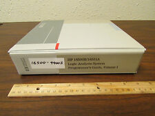HP 16500B/16501A Logic Analyzer Programmer's Guide Vol 1 16500-99002