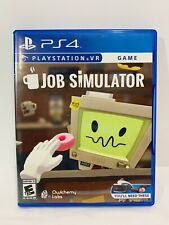 Job Simulator Psvr (Sony PlayStation 4) Ps4 - Fast Free Shipping in a box - Htf