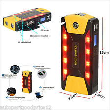 82800mAh High-Power 4 USB Car Jump Starter Emergency Charger Booster Power Bank
