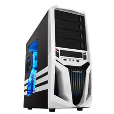 10-Core Gaming Computer Desktop PC Tower SSD Quad 8GB R7 Graphic CUSTOM BUILT