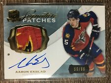 Aaron Ekblad 2014-15  The Cup Rookie Signature Patches 3 CLR #59/99 C'D SP-AE