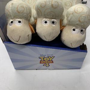 Toy Story 4 Billy Goat & Gruff Plush With Sounds Bo Peeps Sheep 2019 New