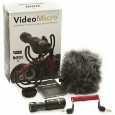 RODE VideoMicro Ultra-Small Condenser Microphone for DSLR  Camera 3.5mm output