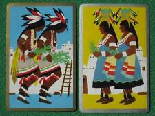 "Fred Harvey ""Indians of the Southwest"" Art Deco Navajo or Hopi Swap Cards Oldies"