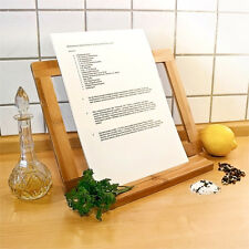Kochbuchständer Bambus Buchständer Buch Ständer Kochbuch Kochbuchhalter Halter