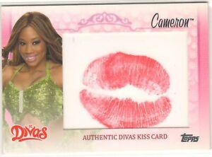 2013 WWE CAMERON - DIVAS KISS CARD - ULTRA RARE - 2013 TOPPS