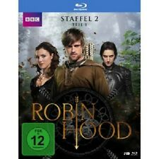 ROBIN HOOD-STAFFEL 2,TEIL 1 (JONAS ARMSTRONG/LUCY GRIFFITHS)  2 BLU-RAY  NEU