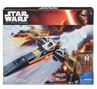 Hasbro Star Wars The Force Awakens Poe Dameron's X-Wing Fighter Vehicle - Sealed