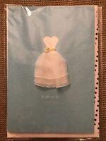 Hallmark Signature Card BRIDE TO BE Wedding Greeting Dress Bridal Shower